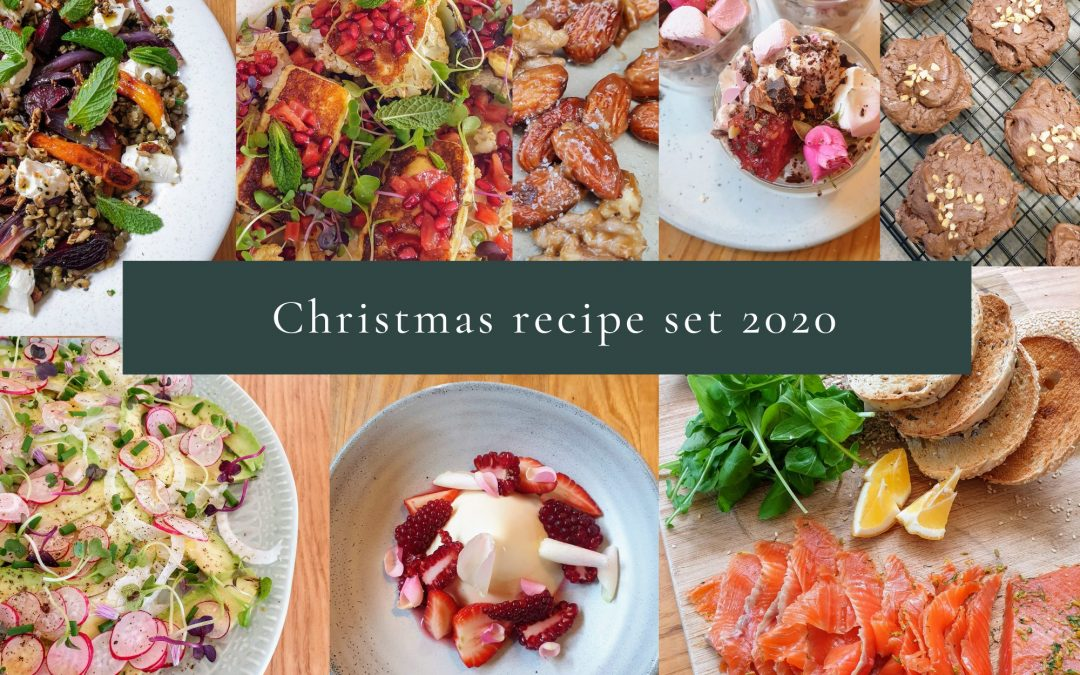 Christmas recipe set 2020