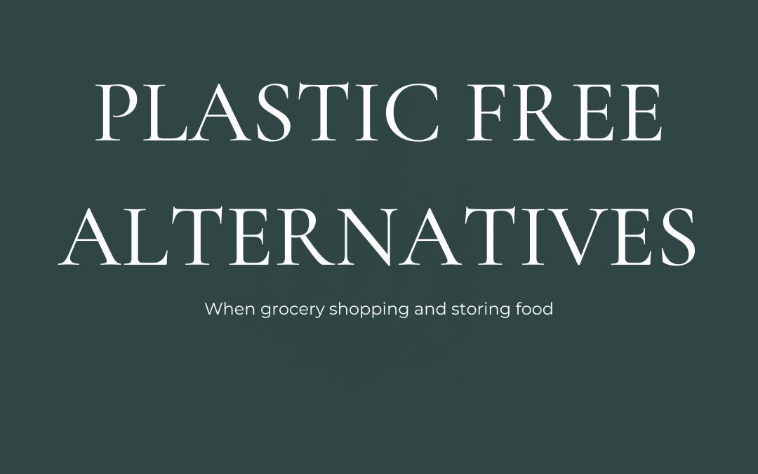 Plastic free life – Food storage