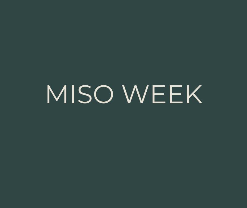 Miso week